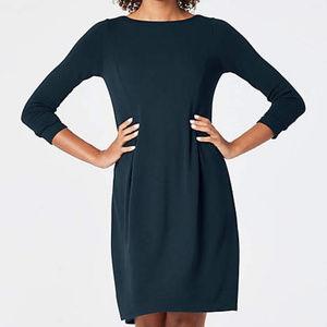 J Jill Wearever Collection Navy Dress